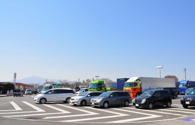 ドライバーの「休憩場所」問題が解決!?高速道路の「大型車の駐車スペース」を増設。